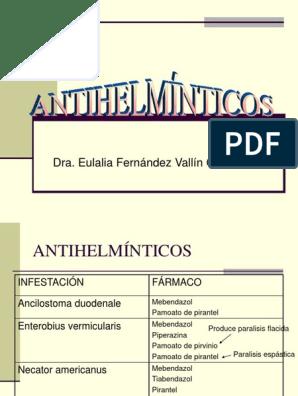 Helmipal parazitakezelési vélemények - Antihelmintikus népi gyógyszerek
