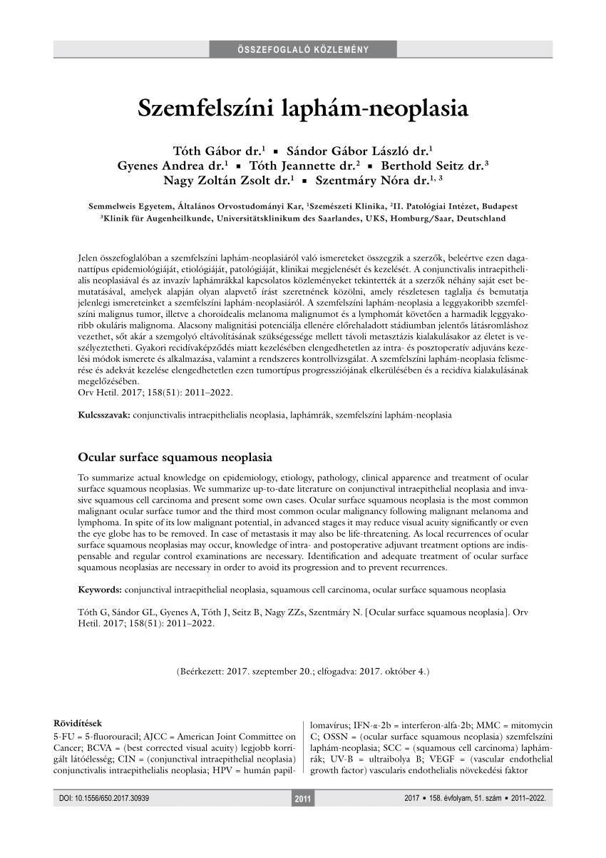 papilloma vírus laphám amway parazita kezelés