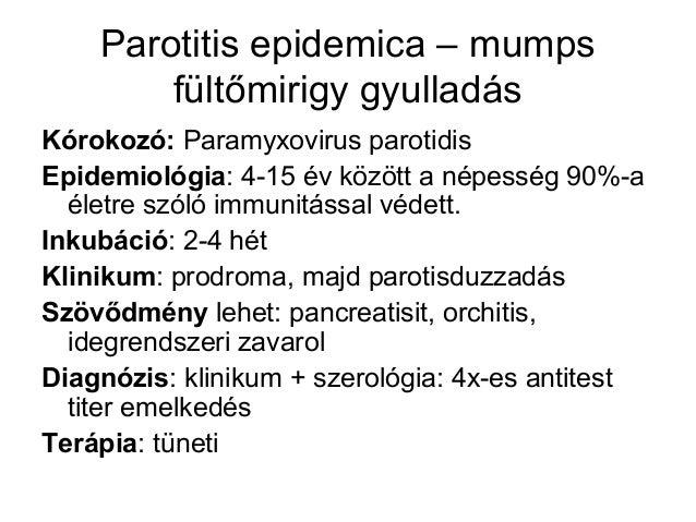 papillomavírus inkubáció