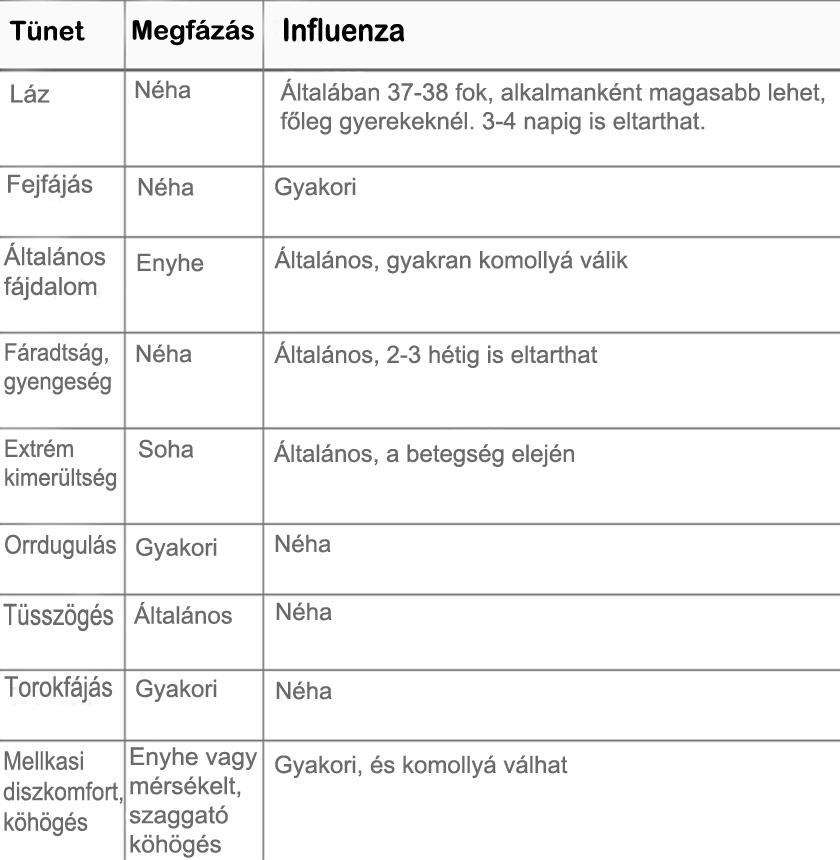 7+1 tény az influenzáról, amit nem árt tudni